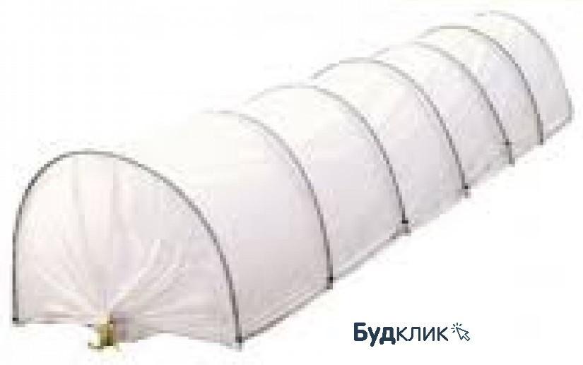 Парник міні теплиця довжиною 8 метрів агроволокно СУФ-50 (Агро-теплиця)