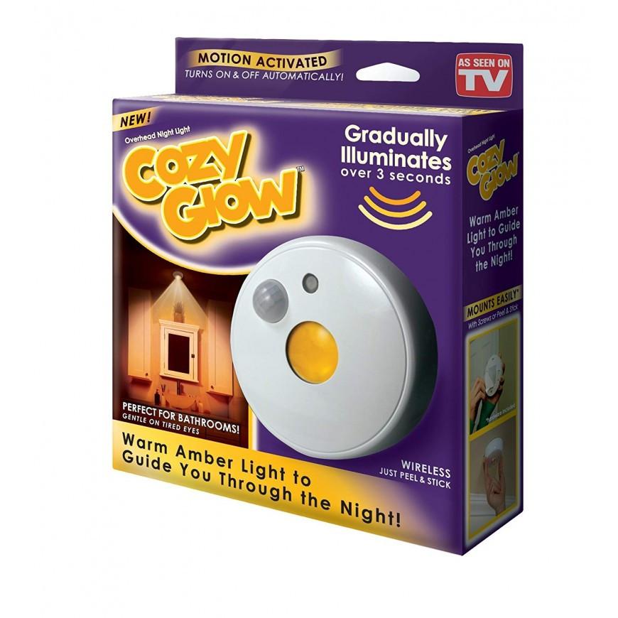Светильник Cozy Glow с датчиком движения на батарейках
