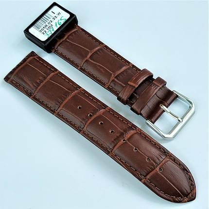 22 мм Кожаный Ремешок для часов CONDOR 305.22.02 Коричневый Ремешок на часы из Натуральной кожи, фото 2