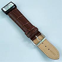 22 мм Кожаный Ремешок для часов CONDOR 305.22.02 Коричневый Ремешок на часы из Натуральной кожи, фото 3