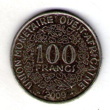 Западная Африка 100 франков №54