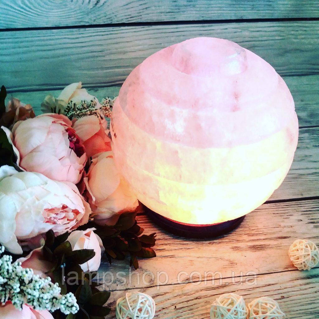 Соляная лампа «Сфера» 6-7кг