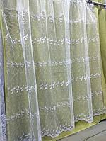 Фатин с нежной вышивкой, 1,6м высота (Турция)