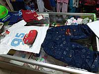 Костюм детский с Джинсовыми шортами и футболкой МакКвин р.104 - 128