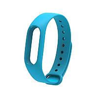 Ремешок Silicone для фитнес-браслета Xiaomi Mi Band 2 Blue