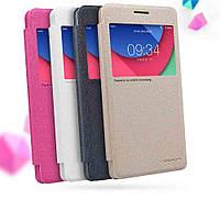 Чохол-книжка для Lenovo Vibe P1m Nillkin Sparkle Series Рожевий