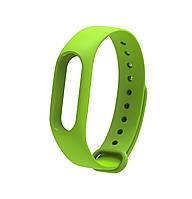 Ремешок Silicone для фитнес-браслета Xiaomi Mi Band 2 Green