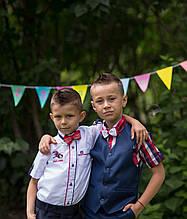 Рубашки короткий рукав, одежда для мальчиков 1-6 лет