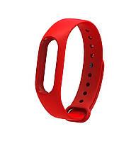 Ремешок Silicone для фитнес-браслета Xiaomi Mi Band 2 Red