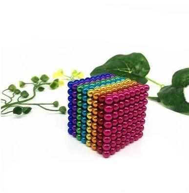 Головоломка Neocube Неокуб Радужный 512 шариков 5мм  + Коробка + мешочек + карточка в Подарок