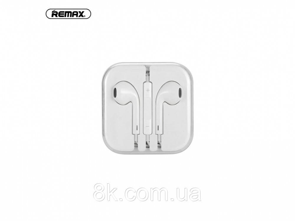 Наушники Remax wired Music and Calls RM-L01