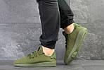 Мужские кроссовки Adidas Pharrell Williams (темно-зеленые), фото 2