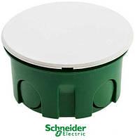 Коробка распределительная 70х40 бетон с крышкой Schneider Electric