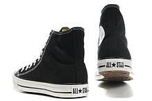 Мужские кеды Converse All Star High black, Конверс Ол Стар, фото 3