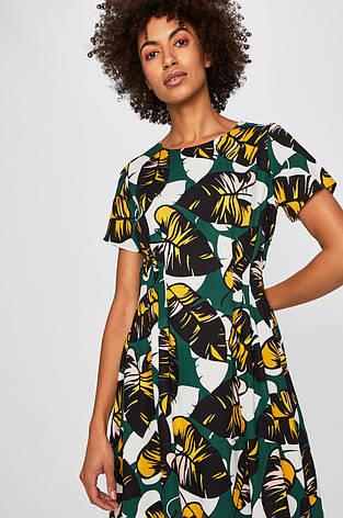 Платье в цветочный принт летнее, фото 2