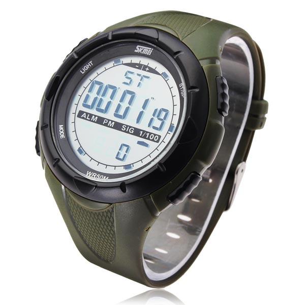 Часы наручные SKMEI 1025 green