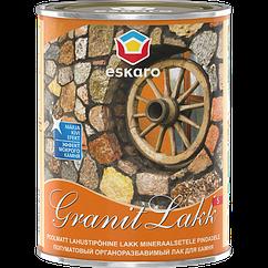 Износостойкий лак для камня и бетона Granit Lakk S Eskaro 1л