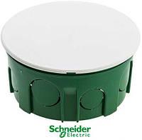 Коробка распределительная 100х50 бетон с крышкой Schneider Electric
