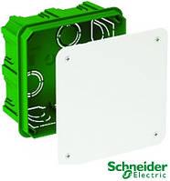 Коробка распределительная 100х100х50 бетон с крышкой Schneider Electric