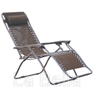 Кресло-шезлонг раскладное для дачи