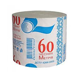 Туалетная бумага Альбатрос 60 метров (арт 549)