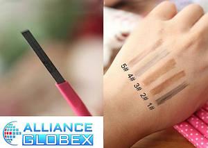 Автоматический карандаш для бровей , водостойкий ,натуральный , не мягкий