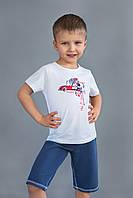 Детская футболка для мальчиков (от 2-х до 6-ти лет) (КАР 03-00516-3)