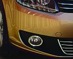 Volkswagen Caddy 2010-2015 рр. Накладки на противотуманки (2 шт., нерж) OmsaLine - Італійська нержавійка