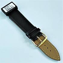 22 мм Кожаный Ремешок для часов CONDOR 525.22.01 Черный Ремешок на часы из Натуральной кожи, фото 3
