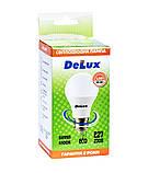 Лампа светодиодная DELUX BL60 10Вт 4100K Е27 белый, фото 3