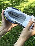 Женские кроссовки Balenciaga (бежево-синие), фото 3
