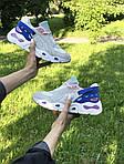 Женские кроссовки Balenciaga (бежево-синие), фото 8