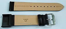 22 мм Кожаный Ремешок для часов CONDOR 283.22.01 Черный Ремешок на часы из Натуральной кожи, фото 3