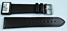 22 мм Кожаный Ремешок для часов CONDOR 283.22.01 Черный Ремешок на часы из Натуральной кожи, фото 2
