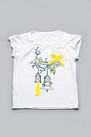 Детская футболка для девочки (от 2-х до 6-ти лет) (КАР 03-00517-3)