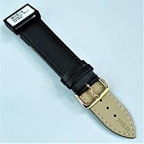22 мм Кожаный Ремешок для часов CONDOR 340.22.01 Черный Ремешок на часы из Натуральной кожи, фото 3