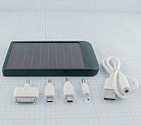 Power Bank 2600 mAh с зарядкой от 220v и солнечной батареи