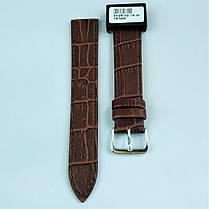 18 мм Кожаный Ремешок для часов CONDOR 342.18.02 Коричневый Ремешок на часы из Натуральной кожи, фото 2
