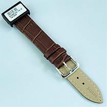 18 мм Кожаный Ремешок для часов CONDOR 342.18.02 Коричневый Ремешок на часы из Натуральной кожи, фото 3