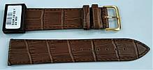 22 мм Кожаный Ремешок для часов CONDOR 342.22.02 Коричневый Ремешок на часы из Натуральной кожи, фото 2
