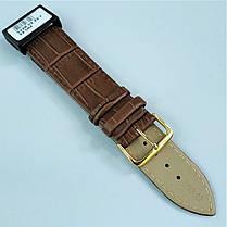 22 мм Кожаный Ремешок для часов CONDOR 342.22.02 Коричневый Ремешок на часы из Натуральной кожи, фото 3