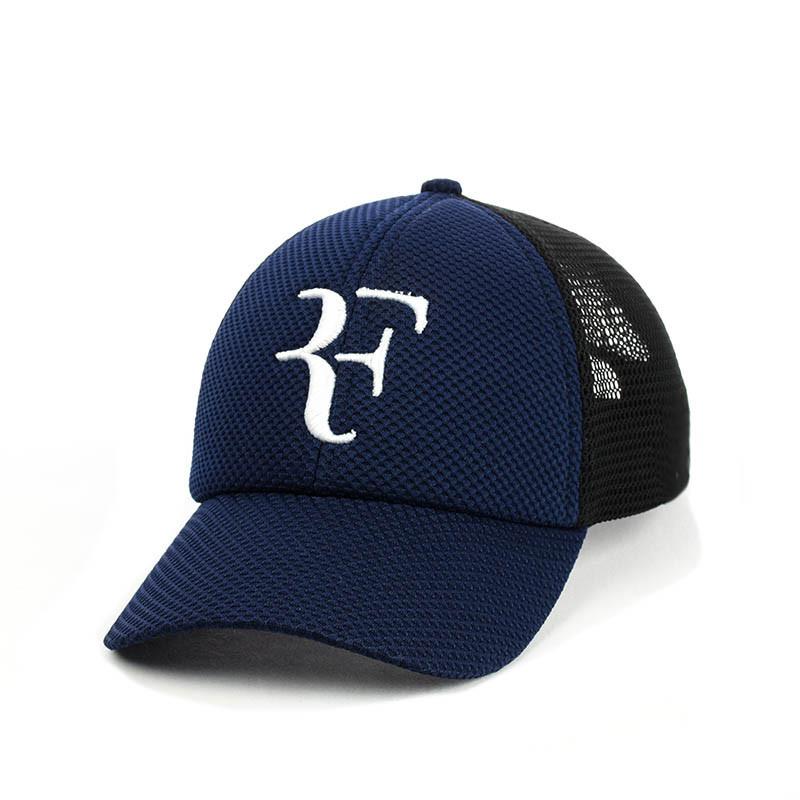 Кепка- бейсболка с сеткой и вышивкой Roger Federer