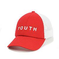 Кепка- бейсболка с сеткой и вышивкой YOUTH, фото 1