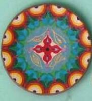 Тарелка 42 см керамика настенная большая Блюдо керамическое