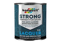 Лак для камня Kompozit Strong 0,9л