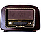 Ретро проигрыватель Daklin Европа орех, фото 3