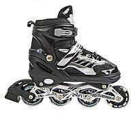 Ролики Skate Sport. Black. р.29-33,34-37,38-42., фото 1