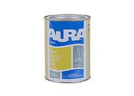 Алкидно-уретановый яхтенный лак Aura – (Полуматовый) 0.8кг