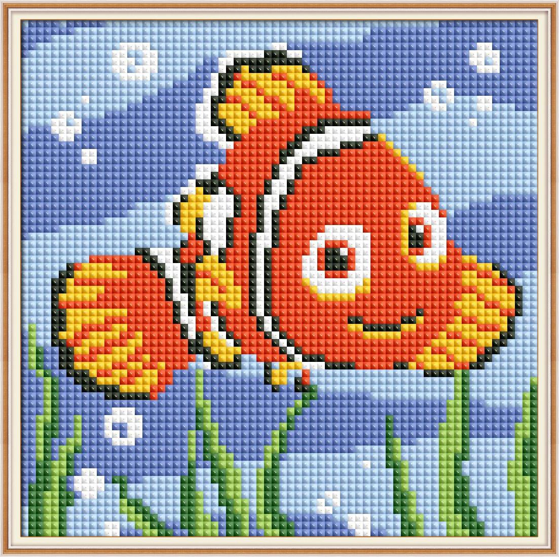 Набор Алмазная вышивка Рыбка K0003