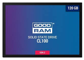 SSD накопитель Goodram CL100 120 GB GEN.2 SATAIII TLC(SSDPR-CL100-120-G2)